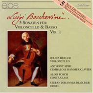 Cello Sonatas Vol.1: J.berger(Vc), Etc