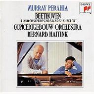 Piano Concertos.3, 5: Perahia, Haitink / Concertgebouw.o