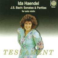 無伴奏ヴァイオリンのためのソナタとパルティータ全曲 イダ・ヘンデル(2CD)