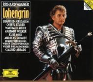 Lohengrin: Abbado / Vpo, Jerusalem, Studer, Moll, W.meier, Welker, A.schmidt