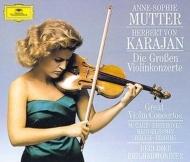 ヴァイオリン協奏曲録音集 アンネ=ゾフィー・ムター、ヘルベルト・フォン・カラヤン&ベルリン・フィル(4CD)
