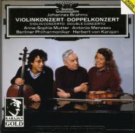 ヴァイオリン協奏曲、二重協奏曲 ムター、メネセス、カラヤン&ベルリン・フィル