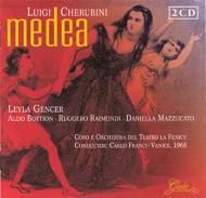 『メディア』全曲 フランチ&フェニーチェ座、ジェンチェル、ボッティオン、他(1968 モノラル)(2CD)