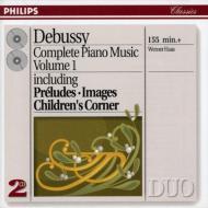 ピアノ作品全集Vol.1(前奏曲集、ほか) ハース(p)(2CD)