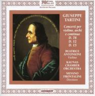Violin Concertos: アントニオーニ(Vn)