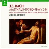 Matthaus-passion: Corboz / Lausanne Co Marshall Watkinson Equiluz