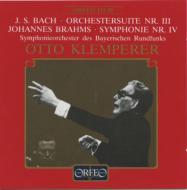 ブラームス / 交響曲第4番、バッハ:管弦楽組曲第3番 クレンペラー&バイエルン放送響(1957)