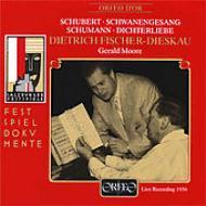 Schwanengesang / Dichterliebe: F-dieskau(Br), G.moore(P)Salzburg 1956