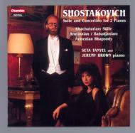 2台のピアノのためのロシア音楽 J・ブラウン&S・タニエル(p)