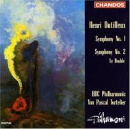 デュティーユ:交響曲第1番・第2番 トルトゥリエ/BBCフィルハーモニック