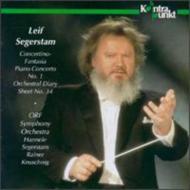 Piano Concerto.1, Concertino-fantasia: Segerstam / Orf.so, Keuschnig(P), Etc