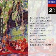 シェエラザード、ロシアの復活祭、『雪娘』組曲、ほか アンセルメ&スイス・ロマンド管(2CD)