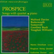Prospice-spngs With Quartet, Piano