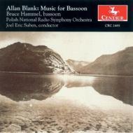 アラン・ブランク(1925-)Bassoon Works: Hammel
