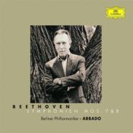 交響曲第7、8番 アバド&ベルリン・フィル ('99、'00)