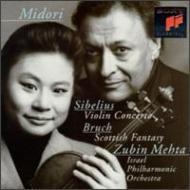 Violin Concerto: Midori(Vn)Mehta / Ipo +bruch: Scottish Fantasy