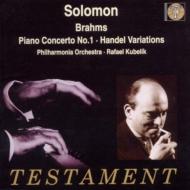 ピアノ協奏曲.1 ソロモン、クーベリック / Po