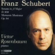 Piano Sonata.20, Moments Musicaux: Rosenbaum
