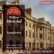 ウィリアム・ハーシェル:交響曲集/ロンドン・モーツァルト・プレイヤーズ、バーメルト(指揮)