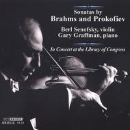 Violin Sonata.2 / .1: Senofsky(Vn)graffman(P)