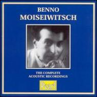 Moiseiwitsh The Acoustic Recordings