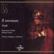ヴェルディ(1813-1901)/Il Trovatore: Schippers / Florence May Festival
