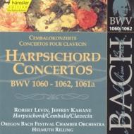 Harpsichord Concertos: R.levin, Kahane(Cemb)rilling / Oregon Bach Festival