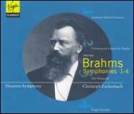 Comp.symphonies, Overtures, Variations, Etc: Eschenbach / Houston.so