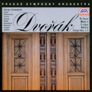 ミサ曲、テ・デウム、聖書の歌より ヴァーツラフ・スメターチェク&プラハ交響楽団、チェコ・フィルハーモニー合唱団