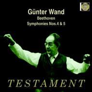 交響曲第4番、第5番『運命』 ギュンター・ヴァント&ケルン・ギュルツェニヒ管弦楽団