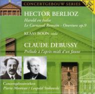 Harold En Italie / Prelude A L'apres Midi D'un Faune: Monteux, Stokowski / C