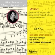 (ロマンティック・ピアノ協奏曲集 第10巻)ウェーバー:ピアノ協奏曲第1番、第2番 デミジェンコ(p)/マッケラス