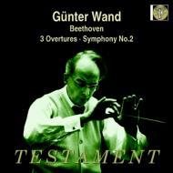交響曲第2番、序曲集 ギュンター・ヴァント&ケルン・ギュルツェニヒ管弦楽団