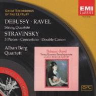 String Quartet: Alban Berg Q +stravinsky