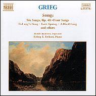 歌曲集[希望Op.26-1/ソルヴェーグの子守歌/他] アルネセン/エリクセン