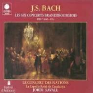 Brandenburg Concerto, 1-6, : Savall / Le Concert Des Nations
