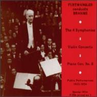 Comp.symphonies: Furtwangler