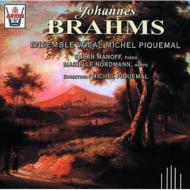 ブラームス(1833-1897)/Works For Vocal Ensemble: Piquemal / Ensemble Vocal Michel Piquemal