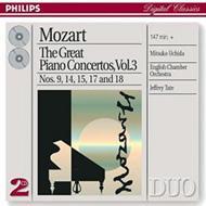 ピアノ協奏曲第9、14、15、17、18番 内田光子(p)、テイト&イギリス室内管