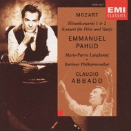 Flute Concerto, 1, 2, Concerto For Flute & Harp: Pahud(Fl)Abbado / Bpo