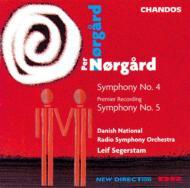 ノアゴー:交響曲第4番、第5番 セーゲルスタム/デンマーク国立SO