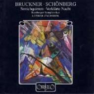 ブルックナー:弦楽五重奏曲、シェーンベルク:浄夜(弦楽合奏版) ツァグロゼク&バンベルク交響楽団(1993)