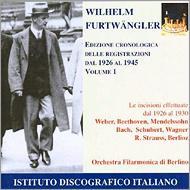 フルトヴェングラー&ベルリン・フィル 1926−1945 Vol.1