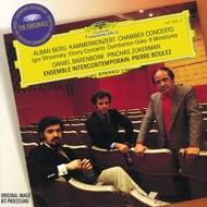 ベルク:室内協奏曲、ストラヴィンスキー:8つの小品、ダンバートン・オークス、他 バレンボイム(p)ズッカーマン(vn)ブーレーズ&EIC