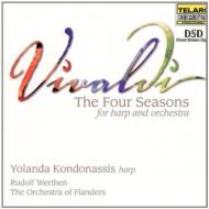 ヴィヴァルディ(1678-1741)/(Harp & Orchestra)four Seasons: Kondonassis(Hp)