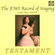 Record Of Singing Vol.3