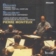 Sym.2 / .8: Monteux / Lso, Concertgebouw.o