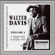 Walter Davis (Blues)/Vol.1 : Complete Recorded Works In Chronological 1933-1935