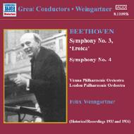 交響曲第3番「英雄」/同第4番 ワインガルトナー/ウィーン・フィル/ロンドン・フィルハーモニー管弦楽団