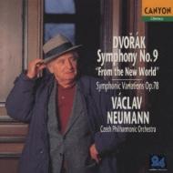 Sym.9: Neumann / Czech.po +symphonic Variations